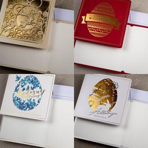 kartki świąteczne wielkanocne ekskluzywne